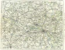 Freytag & Berndt's Automobil- und Radfahrerkarten. Blatt 61, Warschau