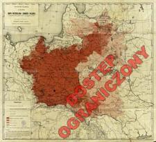 Mapa rozsiedlenia ludności polskiej : z uwzględnieniem spisów władz okupacyjnych w 1916 r.