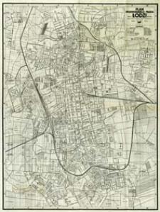 Plan wojewódzkiego miasta Łodzi