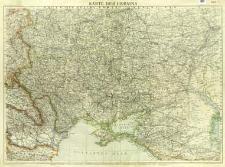 Karte der Ukraina