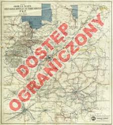 Ogólna mapa sieci kolejowej i autobusowej P.K.P. : na rok 1937-1938 : skala 1:1 500 000