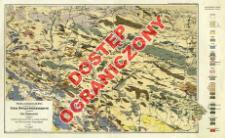 Mapa geologiczna środkowej części Gór Świętokrzyskich = Carte geologique de la partie centrale des Montagnes de Święty Krzyż