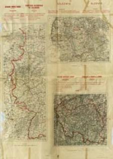Zachodnie granice Niemiec ; Szlezwig ; Obszar Zagłębia Saary = Frontieres occidentales de l'Allemagne ; Slesvig ; Territoire du Basin de la Sarre