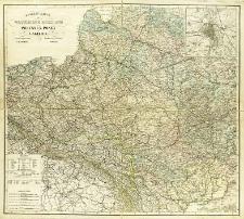General-Karte vom Westlichen Russland nebst Preusse, Posen und Galizien