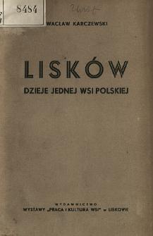 Lisków : dzieje jednej wsi polskiej