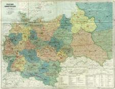 Postleit-Gebietskarte : Maßstab 1:1 500 000