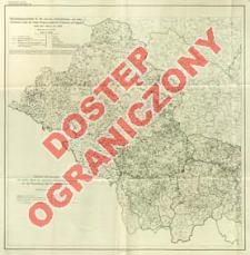 Gemeindegrenzenkarte für die ehemals reichsdeutschen und österreichischen Teile der neuen Regierungsbezirke Kattowitz und Oppeln nach dem Stand von 1914 : Maßstab 1:300 000