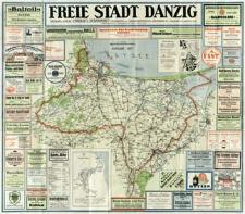 Freie Stadt Danzig [Karte]