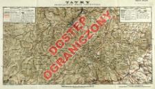 Tatry : przeglądowa mapa turystyczna