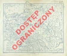 Polska : mapa hypsometryczna