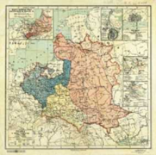 Polska w dobie rozbiorów 1770-1795 : podziałka 1:6 000 000