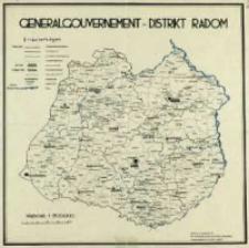 Generalgouvernement - Distrikt Radom