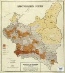 Rzeczpospolita Polska : mapa podziału R. P. na okręgi ekonomiczne