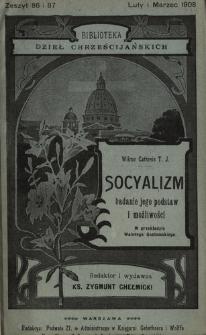 Socyalizm, badanie jego podstaw i możliwości