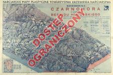 Narciarskie mapy plastyczne Towarzystwa Krzewienia Narciarstwa. Blokdiagram. Nr. 5, Czarnohora z częścią Beskidu Huculskiego