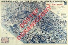 Narciarskie mapy plastyczne Towarzystwa Krzewienia Narciarstwa. Blokdiagram. Nr. 2, Gorce i Beskid Wyspowy
