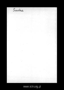 Sucha. Kartoteka powiatu wareckiego w średniowieczu. Kartoteka Słownika historyczno-geograficznego Mazowsza w średniowieczu
