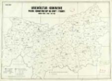 Województwo krakowskie : podział administracyjny na gminy i powiaty : według stanu z dnia 1 VIII. 1934