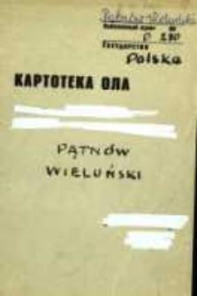 Kartoteka Ogólnosłowiańskiego atlasu językowego (OLA); Pątnów Wieluński (280)