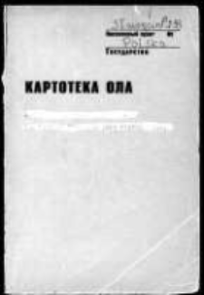 Kartoteka Ogólnosłowiańskiego atlasu językowego (OLA); Sławęcin (238)