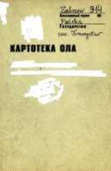 Kartoteka Ogólnosłowiańskiego atlasu językowego (OLA); Zakrzew (314)