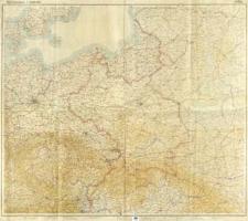 Übersichtskarte 1:1 000 000 : Ostblatt