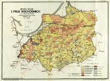 Mapa gleb b. Prus Wschodnich
