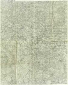 """Zusammendruck der Karte 1:300 000 - """"Süd"""""""