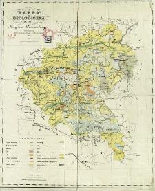 Mappa geologiczna Wielkiego Księstwa Poznańskiego