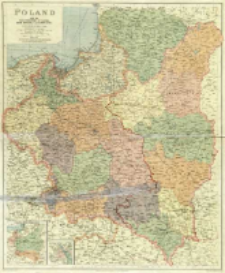Poland with the Free territory of Danzig, East Prussia and Lithuania