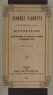 Pomniejsze pisma historyczne : szczególnie do historyi Litwy odnoszące się (z dziesięcioma rycinami)
