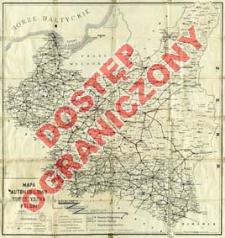 Mapa automobilowo turystyczna Polski