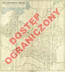 Rzeczpospolita Polska : podział administracyjny według stanu z dnia 1. XI 1929 roku