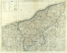 W. Liebenow's Specialkarte des Regierungsbezirkes Köslin für Reise, Bureau u. Verkehr
