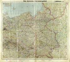 Das deutsche Interessengebiet [mapa polityczno-administracyjna]