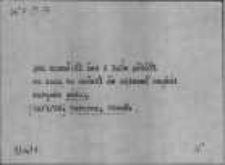 Kartoteka Słownika Gwar Ostródzkiego, Warmii i Mazur; Suplement; Hasła do kontroli; Woda-Wycisnąć