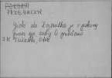 Kartoteka Słownika Gwar Ostródzkiego, Warmii i Mazur; Suplement; Nowe archiwum; Przebaczyć-Rdest