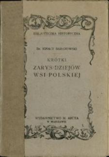 Krótki zarys dziejów wsi polskiej