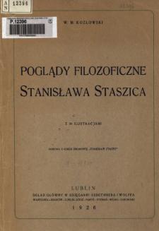 Poglądy filozoficzne Stanisława Staszica
