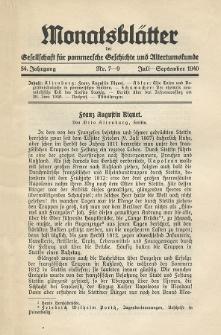 Monatsblätter Jhrg. 54, H. 7-9 (1940)