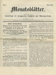 Monatsblätter Jhrg. 32, H. 3 (1918)