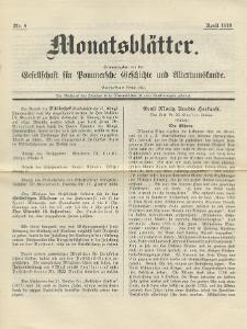 Monatsblätter Jhrg. 32, H. 4 (1918)