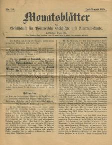 Monatsblätter Jhrg. 39, H. 7/8 (1925)