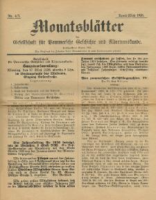 Monatsblätter Jhrg. 40, H. 4/5 (1926)