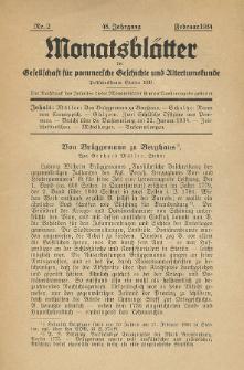 Monatsblätter Jhrg. 48, H. 2 (1934)