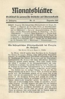 Monatsblätter Jhrg. 51, H. 12 (1937)