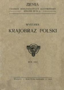 Wystawa Krajobraz polski.
