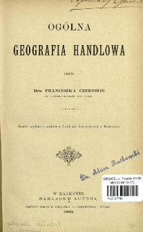 Ogólna geografia handlowa