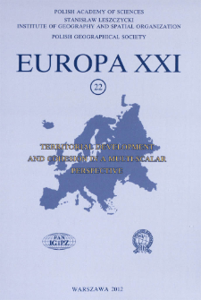 Europa XXI 22 (2012), Contents
