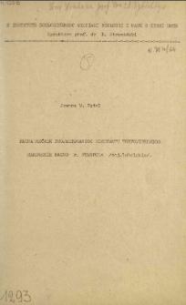Fauna mrówek projektowanego rezerwatu torfowiskowego Rakowskie Bagno k. Frampola (woj. lubelskie)